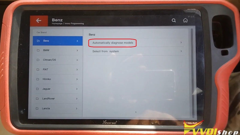 Xhorse Vvdi Key Tool Plus Adds Benz C250 2007 W204 Key By Obd (3)