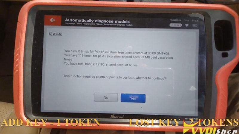 Xhorse Vvdi Key Tool Plus Adds Benz C250 2007 W204 Key By Obd (4)