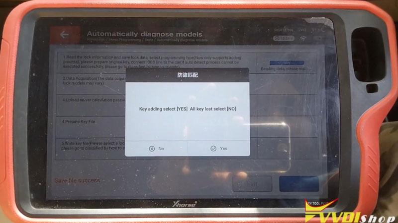 Xhorse Vvdi Key Tool Plus Adds Benz C250 2007 W204 Key By Obd (8)