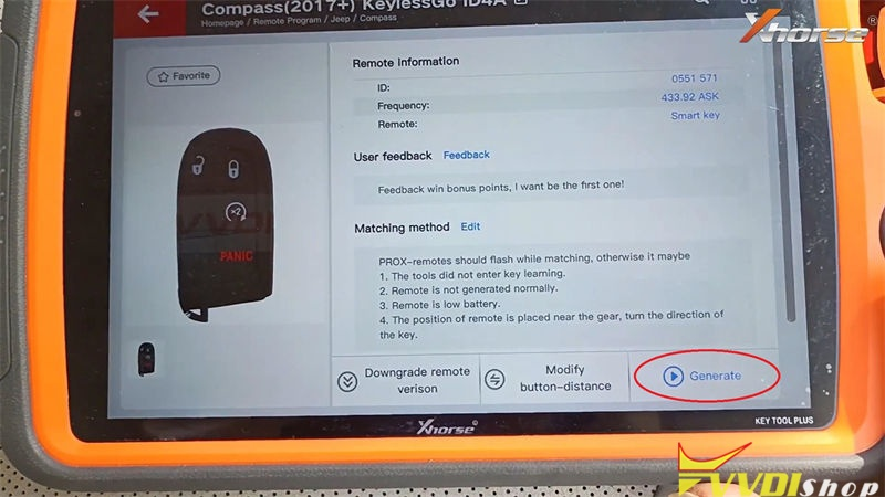 Xhorse Vvdi Key Tool Plus Adds Id4a For Jeep Compass 2017 Success (3)