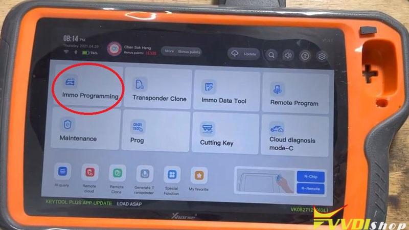 Xhorse Vvdi Key Tool Plus Program Toyota H Chip All Key Lost Success (4)