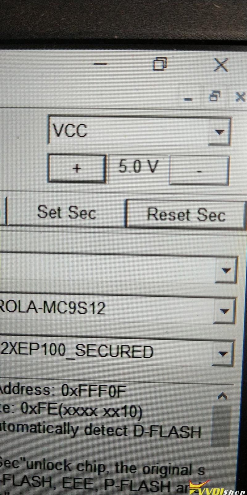 Xhorse Vvdi Prog Mc9s12xep100 13