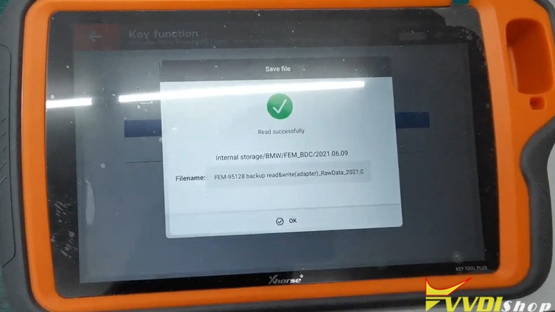 Unlock Bmw Bdc Via Xhorse Vvdi Key Tool Plus (10)