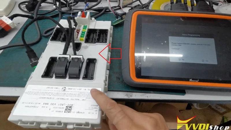 Unlock Bmw Bdc Via Xhorse Vvdi Key Tool Plus (12)