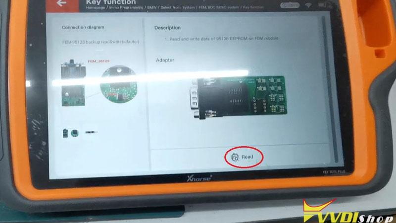 Unlock Bmw Bdc Via Xhorse Vvdi Key Tool Plus (9)