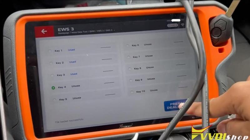 Vvdi Key Took Plus Bmw Ews3 14