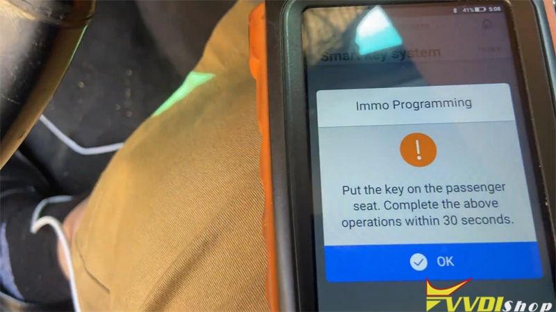 Vvdi Key Tool Max Mini Obd Tool Program Lexus Is250 2009 2013 Akl (10)