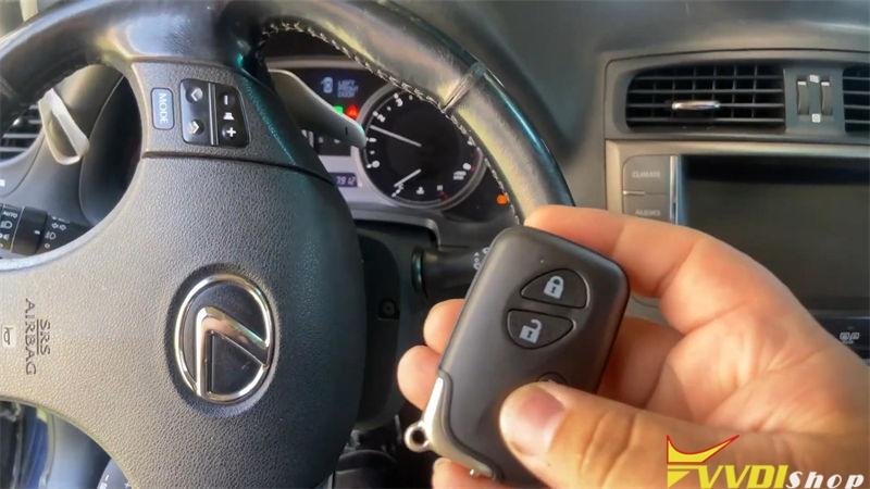 Vvdi Key Tool Max Mini Obd Tool Program Lexus Is250 2009 2013 Akl (12)