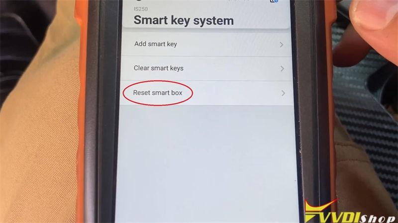 Vvdi Key Tool Max Mini Obd Tool Program Lexus Is250 2009 2013 Akl (4)