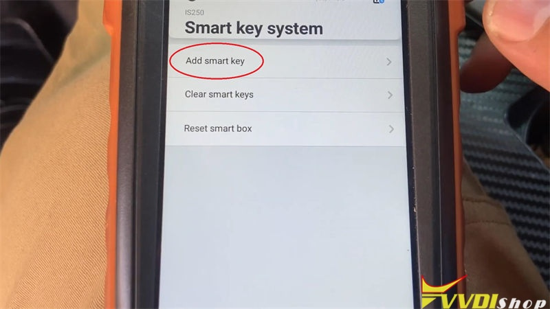 Vvdi Key Tool Max Mini Obd Tool Program Lexus Is250 2009 2013 Akl (8)