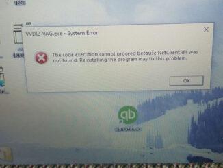 Vvdi2 Vag System Error