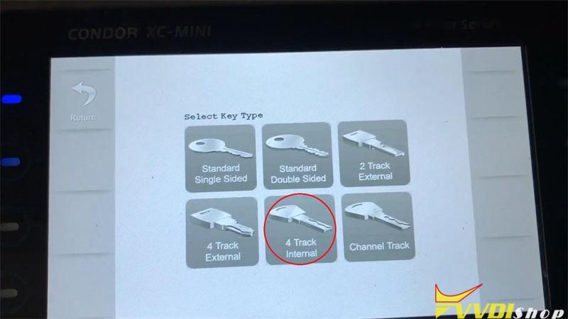Xhorse Condor Xc Mini Plus Cut A Key For Citroen C1 Bj 2008 (3)