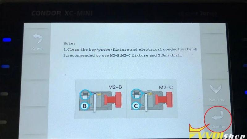 Xhorse Condor Xc Mini Plus Cut A Key For Citroen C1 Bj 2008 (4)
