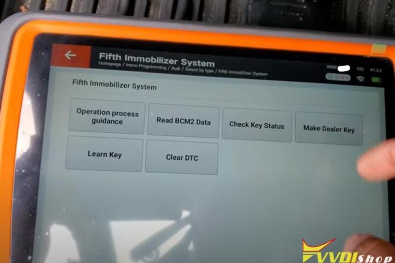 Xhorse Key Tool Plus 2011 Audi A4 Akl 10
