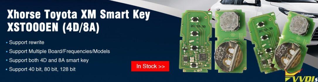 Xhorse Toyota Xm Smart Key Vvdishop