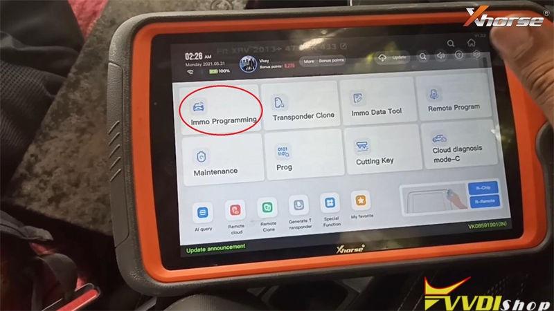 Xhorse Vvdi Key Tool Plus Adds Honda Wr V Id47 Via Obd Done (4)