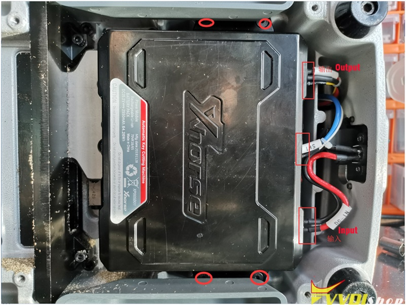 Test Xhorse Dolphin Xp005 Battery 3