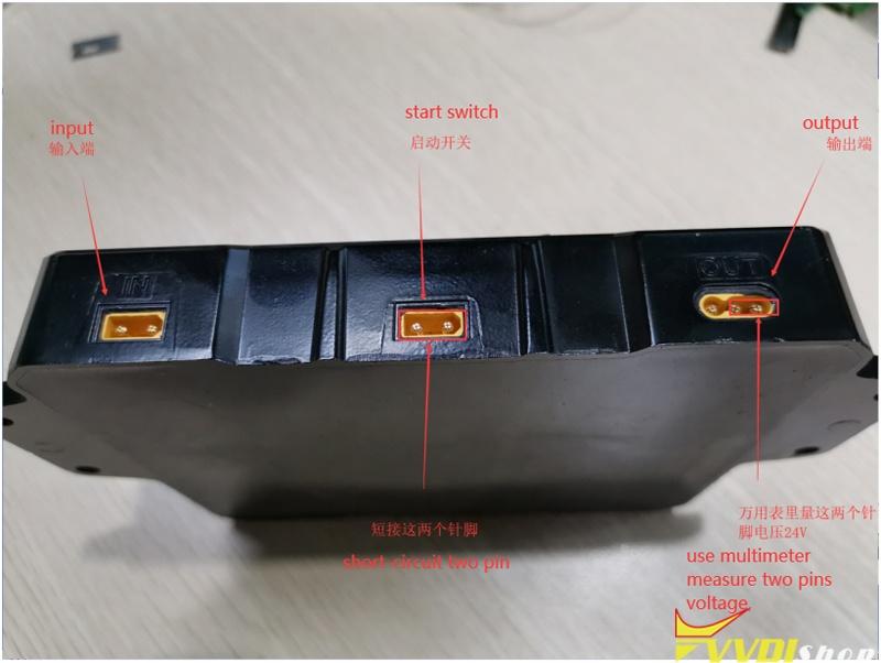 Test Xhorse Dolphin Xp005 Battery 4
