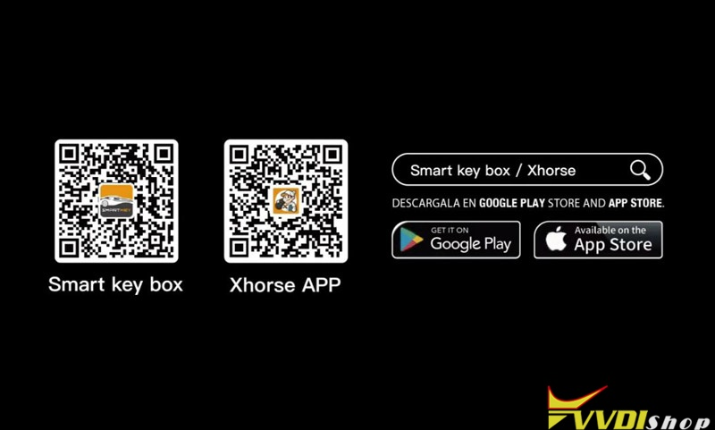 Use Xhorse Smart Key Box 11