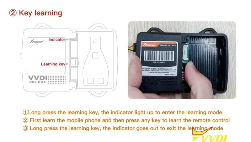 Use Xhorse Smart Key Box 4