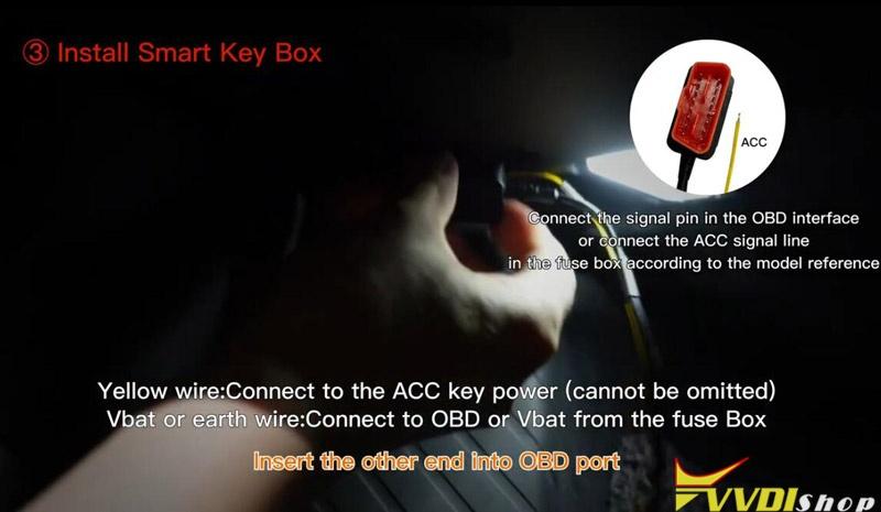 Use Xhorse Smart Key Box 8