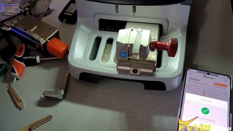 Xhorse Dolphin Xp005 Cut A Hon66 Laser Key (7)