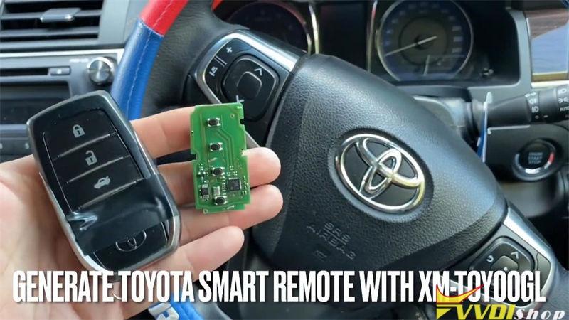Xhorse Vvdi Key Tool Plus Adds Xm Smart Key For Toyota Camry 2015 (1)