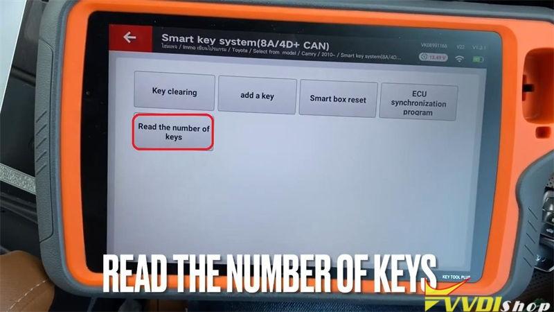 Xhorse Vvdi Key Tool Plus Adds Xm Smart Key For Toyota Camry 2015 (7)