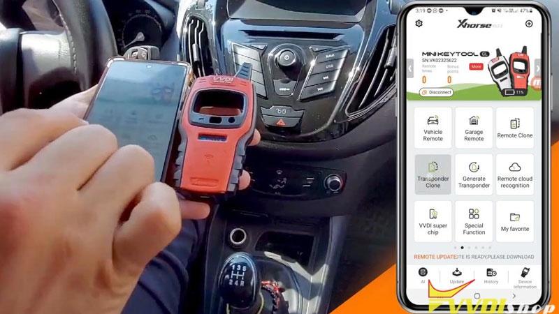 Xhorse Vvdi Mini Key Tool Program Super Chip For Ford Tourneo 2015 (2)