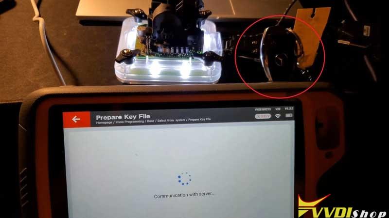 Xhorse Vvdi Prog Key Tool Plus Program 2004 Mercedes C240 Akl (12)