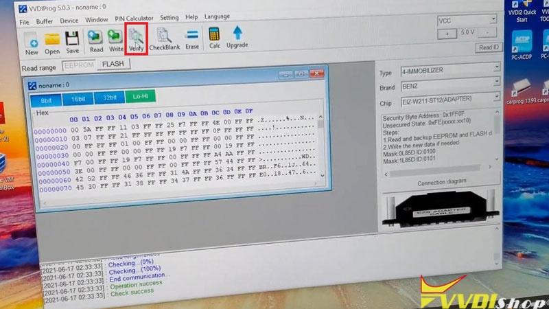 Xhorse Vvdi Prog Key Tool Plus Program 2004 Mercedes C240 Akl (6)