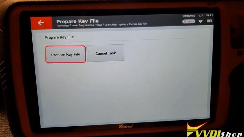 Xhorse Vvdi Prog Key Tool Plus Program 2004 Mercedes C240 Akl (9)