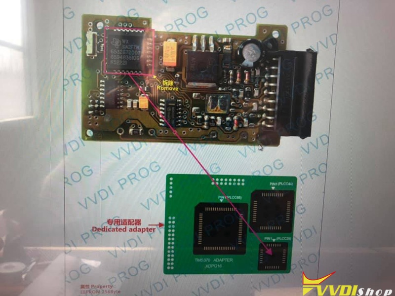 Vvdi Prog Opel Tms370 Chip Not Connected 1