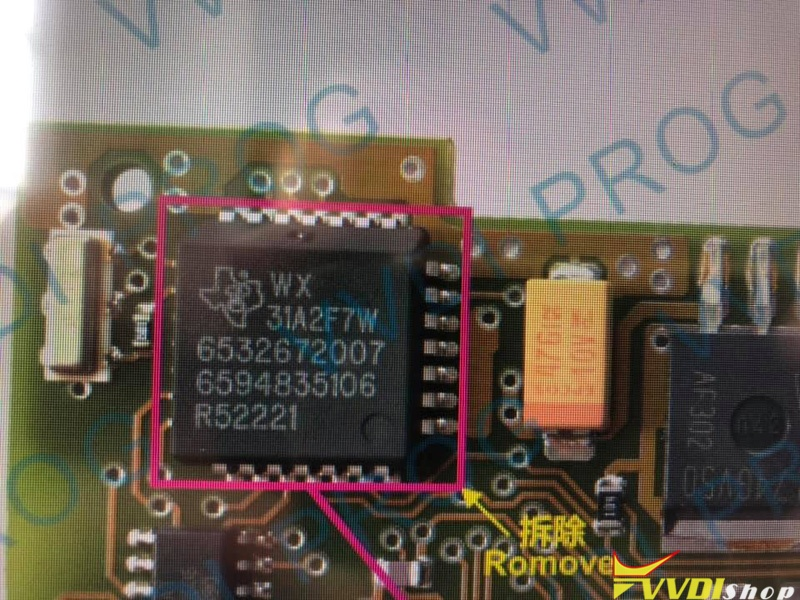 Vvdi Prog Opel Tms370 Chip Not Connected 2