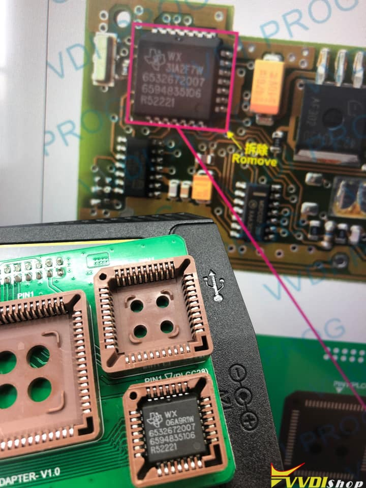 Vvdi Prog Opel Tms370 Chip Not Connected 4