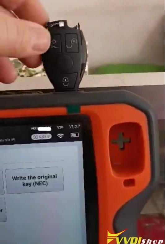 Xhorse Key Tool Plus Read Be Key Via Ir 1