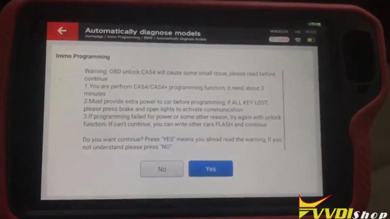 Xhorse Vvdi Key Tool Plus Adds Bmw 523i Cas4 1l15y Key Via Obd (5)