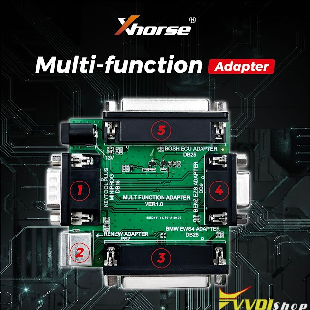 Xhorse Adapter