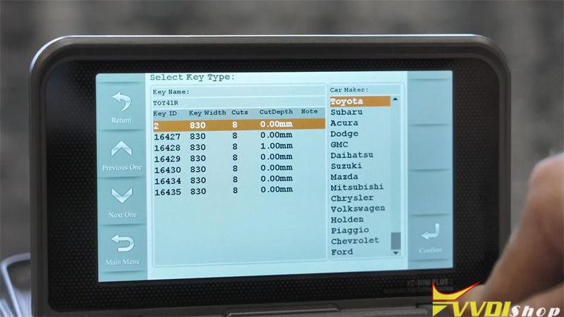 Xhorse Condor Xc Mini Plus Copy Toyota Toy41r Key (4)