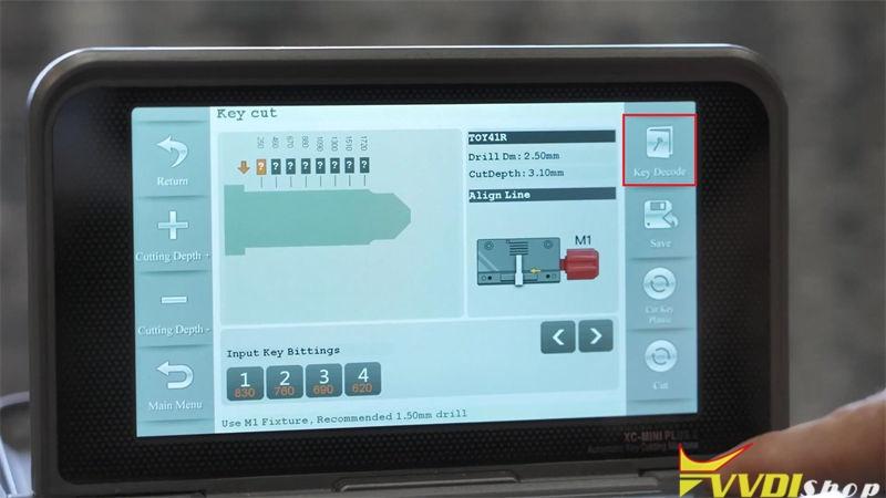 Xhorse Condor Xc Mini Plus Copy Toyota Toy41r Key (5)