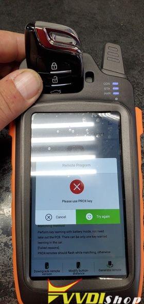 Xhorse Key Tool Max Failed To Generate Prox Key 1