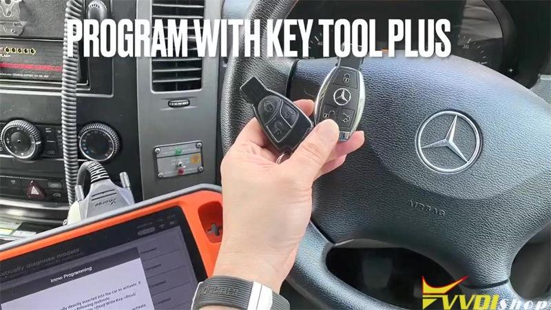 Xhorse Key Tool Plus Adds Benz Sprinter W906 2010 Key Success (1)