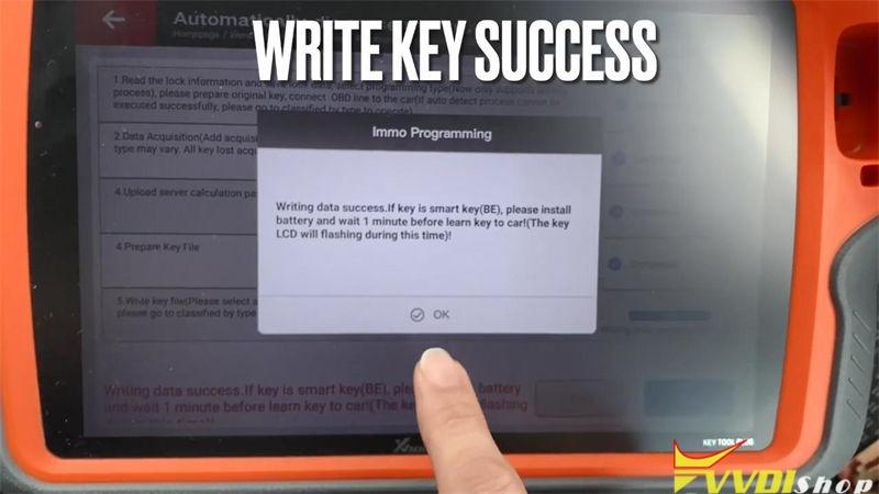 Xhorse Key Tool Plus Adds Benz Sprinter W906 2010 Key Success (13)