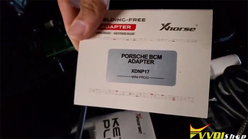 Xhorse Key Tool Plus Program 2011 Porsche Cayenne Akl No Soldering (2)