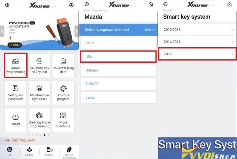 Xhorse Smart Key Box Adds Keylessgo On 2018 Mazda 3 Success (3)
