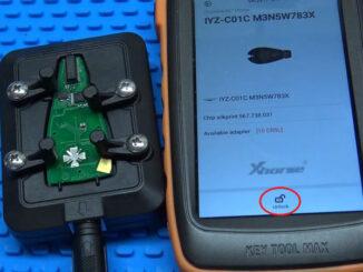 Xhorse Vvdi Key Tool Max Unlock Dodge Fobik Via Renew Adapter (4)