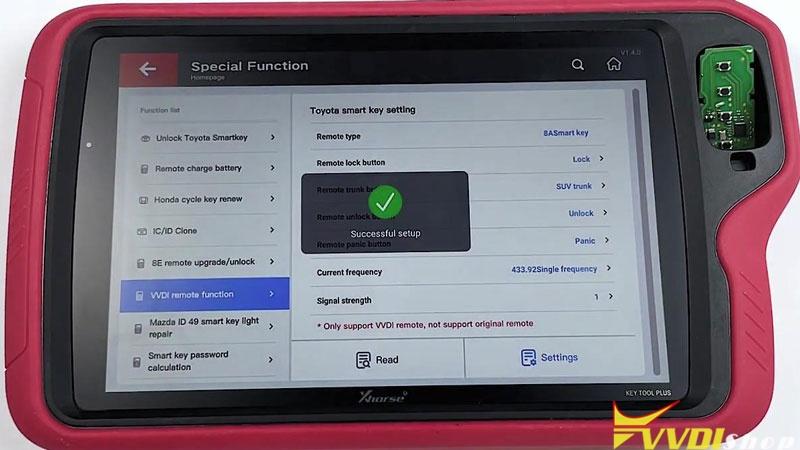 Xhorse Vvdi Key Tool Plus Customize Toyota 4d 8a Smart Key (7)