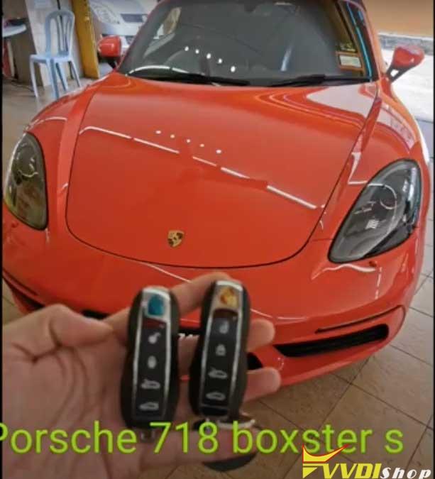 Xhorse Vvdi Key Tool Plus Porsche 718 Add Key 1