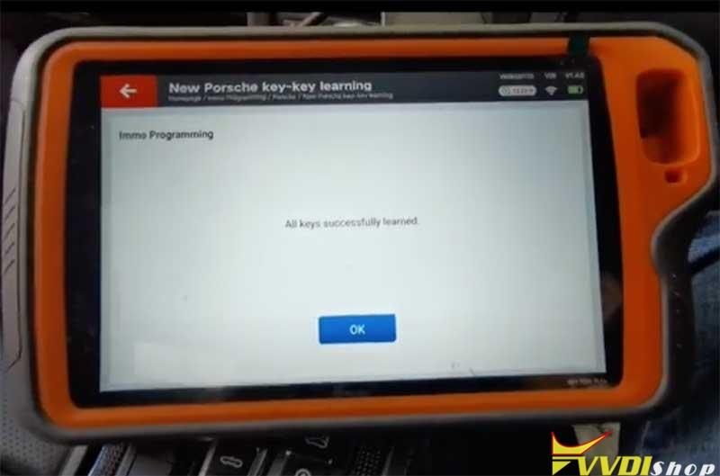 Xhorse Vvdi Key Tool Plus Porsche 718 Add Key 13