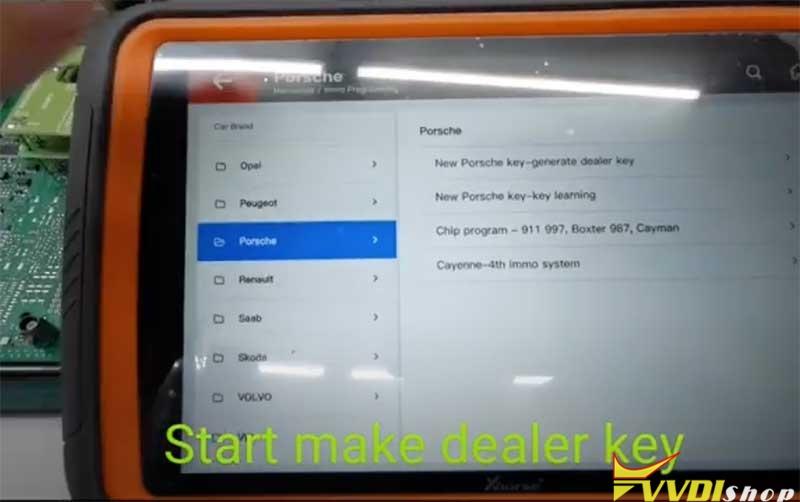 Xhorse Vvdi Key Tool Plus Porsche 718 Add Key 5